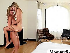 Stepmom, Mom and boy, Teen, Milf, Mom and teen, Mom n boy