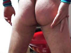 Masturbacja dupy, Big big ass masturbacja