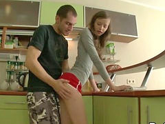 Teen anal, Anal teen, Teen, Anal, Kitchen, Teens