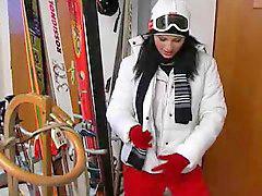 Лыжница, Кончить