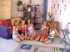 Orgy girls, Five girl, Five v, Girl orgie