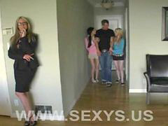 Teen, Milf, Lesson, Sweet