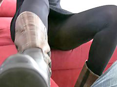 Socked, Footjob sock, Sock footjob, Sockings, With socks, Socks