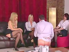 Guys humiliated, Three guys, Guy humiliated, Humiliations, Threes, Milie