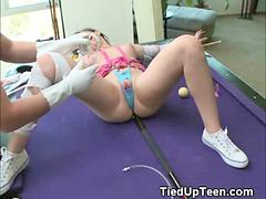Pussy, Play, Teens, Teen, Tied up, Tied