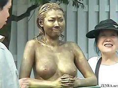 동상, 정원, 일본왕가슴, 일본 왕가슴, 일본어