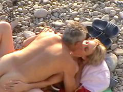 Beach, Couple, 12, Rusıa, Rusės, Hidcame