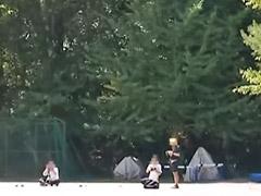 Niña acabando, Japones y niñas, Jovencitas al aire libre, Censurado japones, Una niña trigueña, Niñas morenas
