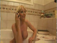 In bathtub, Bathtube, Bathtub, Milf