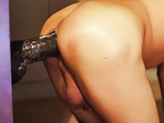 Huge dildo, Huge ass, Huge black, Gay dildo, Gay toy, Black gays