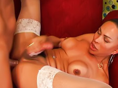Shemale, Stockings anal, Hot shemales, Stocking cum, Stocking shemale, Anal sex on couch