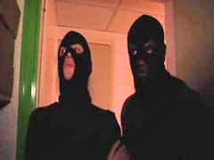 Mascaras, `pelirrojas, 3 hombres, Pregunt, Hombres, Máscara