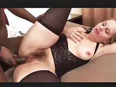 Interracial, Milf, Big cock, Black, Hairy