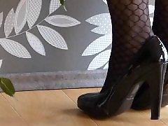 فوت فتیش کفش پاشنه بلند, فتیش جوراب