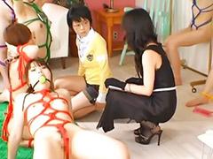 Japanese lesbian, Japanese lesbians, Bondage