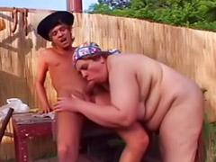 Outdoor mature, Fat masturbating, Mature masturbation, Fat fuck, Titfuck, Mature outdoor