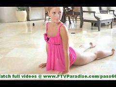 Skinny, Naked, Posing, Ballerina, Dance
