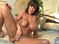 Lisa ann, Sex self, Lisa anne, Vibratör, Vibrate, Sexy milf