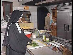 German, Assfuck, In kitchen, Assfucking, Nuns l, Kitchen fuck
