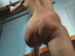 Bound, Hairy brunette, Asian spanking, Spanking hairy, Bondage sex, Tight brunette