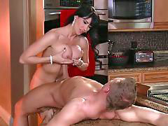 Bus, Mom, Mom bust, Moms ass, Mom in kitchen, Mom ass fuck