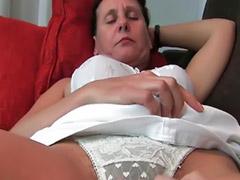 Granny, Hairy brunette, Mature masturbation, Hairy vagina, Hairy masturbation, Hairy mature milf