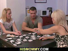 Strip, Mommy, Mom, Stripped, Mom poker, Poker