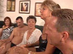 Granny, Grannies, Granny orgy, Granny milf, Private, Privat party