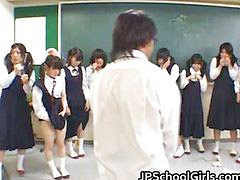 Азиаты азиаты, Азиат азиат, На уроке, Азиатки, Студентам, В классе