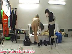 Real fun, Real blond, Backstage fun, Czech real, Czech blondes, Czech blonde