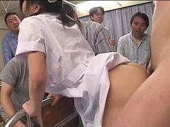 Nurse, Creampie, Japanese creampie, Japanese, Japanese nurse