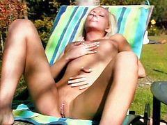 Pleasures, Outdoor blonde, Blond outdoor, Blonde outdoor, Pleasure 2, Herself