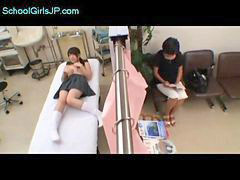 Schoolgirl, Doggy, Hospital, Creampie, Doctor