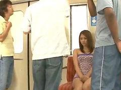 Japán busz, Nemi erőszak