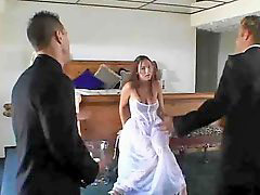 Bride, Threesome fucking, Threesome fuck, Fucks bride, Briding, Brideç