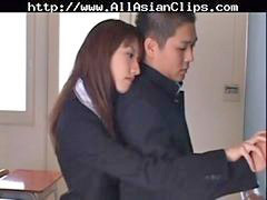 Asian, Cumshot, Handjob, Japanese, Swallow