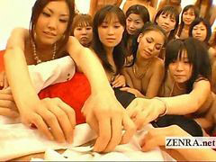 Japones con una japonesa, Orgías japonesas