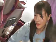 Csaj busz, Japán busz, Csaj buszon
