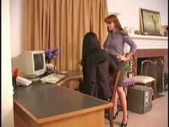 Femdom, Office femdom, At the office, At office, Femdom 男の子, Femdoms