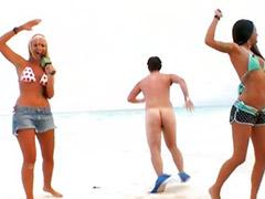 Beach public, Beach sex, Black young, On air, Bea cummings, Young public