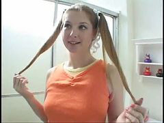 Gta, Pigtailed, Teen pigtails, Teen pigtail, Pigtailed teen, Pigtail teen
