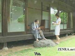 Japońska mam, Chude, Japonka, Cycek, Japoński