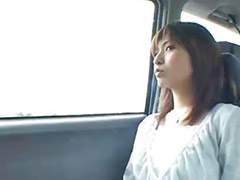 Japanese girl, Japanese public, Car, Japanese, Public, Japanese outdoor