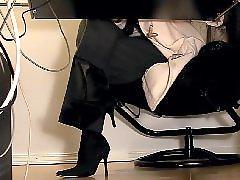 Secretary, Hidden cam, Hidden masturbation, Hidden