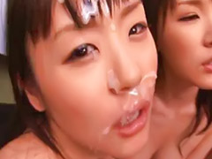 Gangbang, Japanese bukkake, Asian gangbang, Japanese, Asian