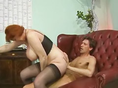 Mature anal, Double anal, Anal mature, Double penetration, Heels