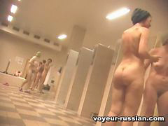 Voyeur, Voyeur-russian, Showerroom, Shower voyeur, 100, Russian