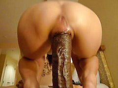 Huge dildo, Dildo, Riding dildo