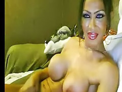 Shemale, Insertions, Asian black cock, Amateur shemale, Giant black cock, Dildo cam